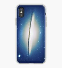 The little Galaxy (Majestic Sombrero Galaxy) iPhone-Hülle & Cover