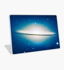 The little Galaxy (Majestic Sombrero Galaxy) Laptop Skin