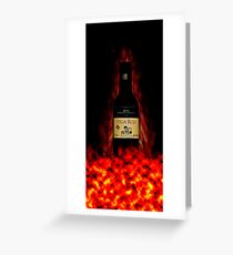 Born from fire Greeting Card