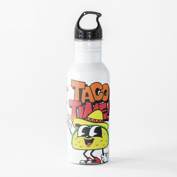Taco Time Water Bottle