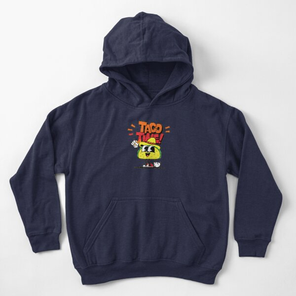 Taco Time Kids Pullover Hoodie