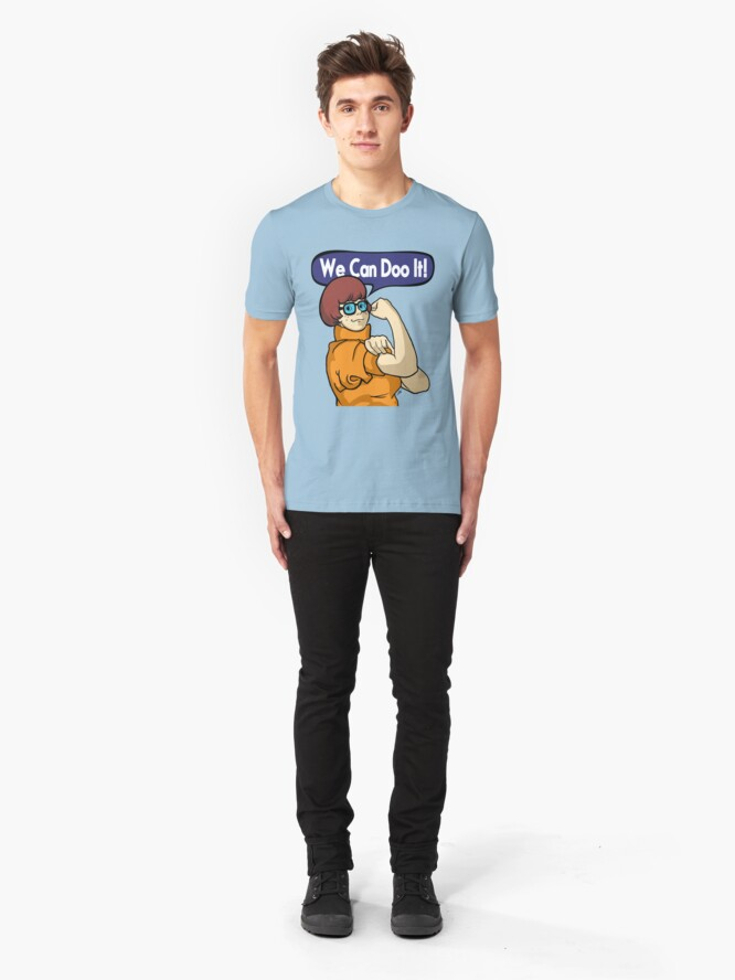 Alternate view of We Can Doo It! Slim Fit T-Shirt