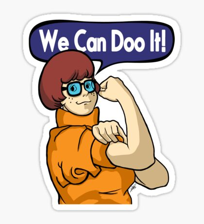 We Can Doo It! Sticker