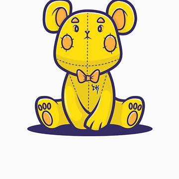 Yellow Teddy Bear by siridhata