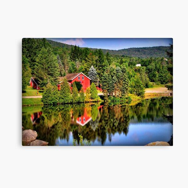 Summer in Vermont Canvas Print