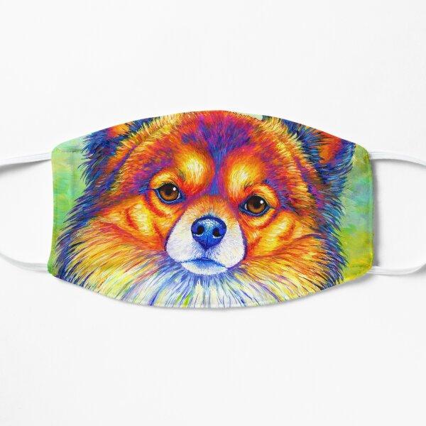 Small and Sassy - Colorful Rainbow Chihuahua Dog Mask