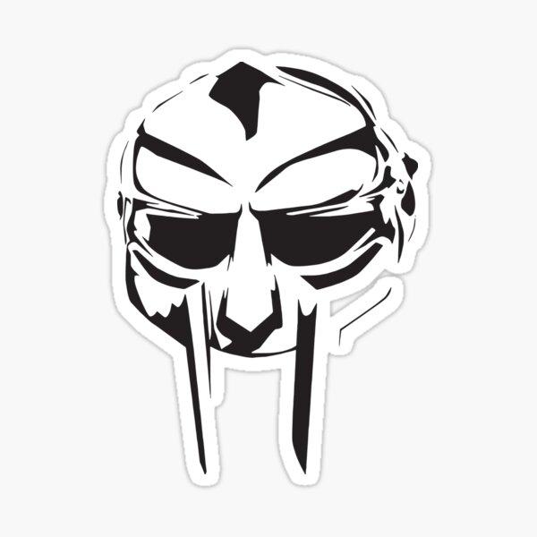DOOM Madvillain All Caps Hip Hop Shirt Mask Sticker
