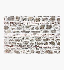 Ancient wall background Photographic Print
