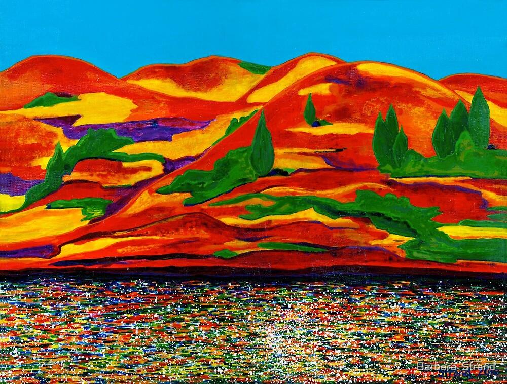 River Reflections by Barbara  Strand