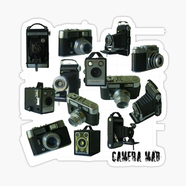 Camera Mad Sticker