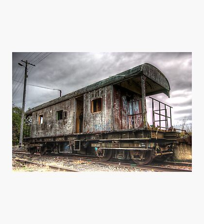 Almost end of the Line, Rail Carriage Harden NSW Australia  Photographic Print