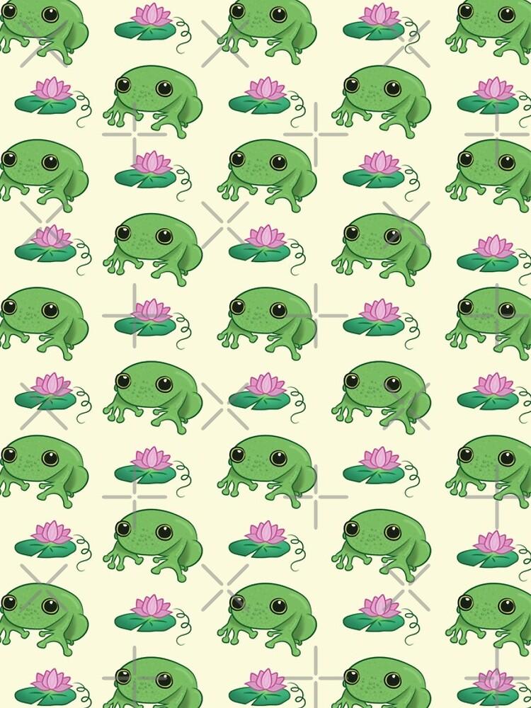 Cute Little Frog by HelenInyang
