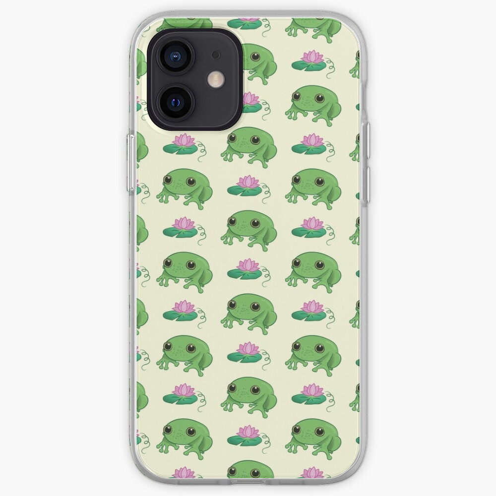 Cute Little Frog iPhone Case & Cover