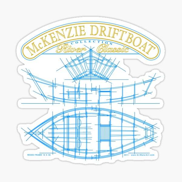 McKenzie Driftboat Collection River Classic Sticker