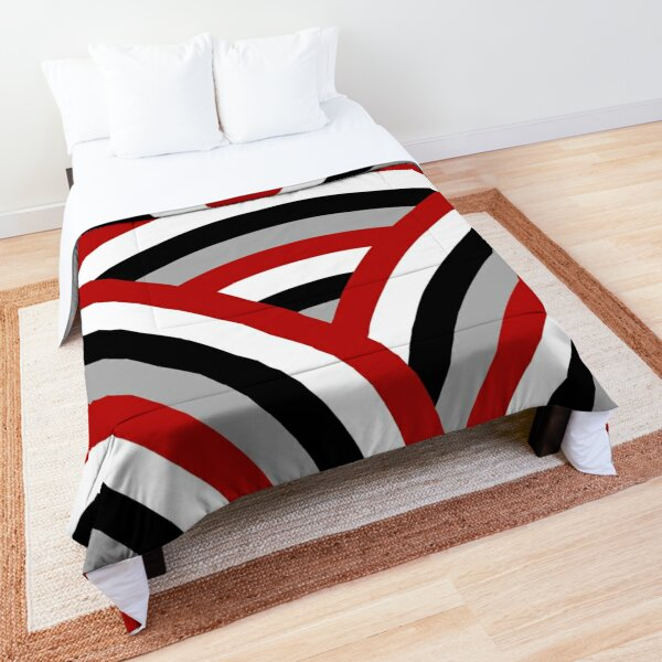 Colorful lines Comforter