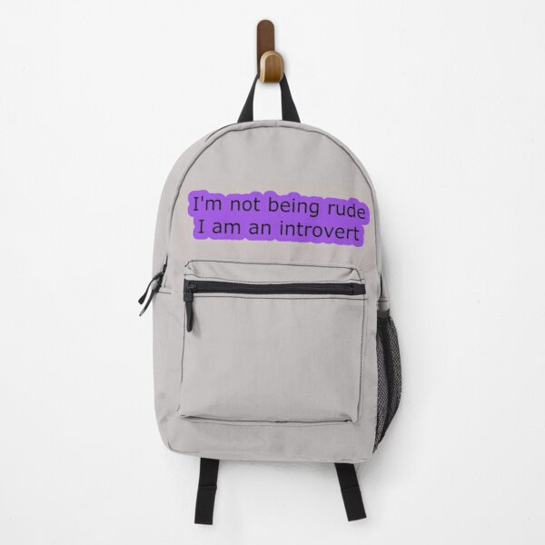 Introvert Thought 1 Backpack