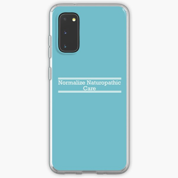Normalize Naturopathic Care (White) Samsung Galaxy Soft Case