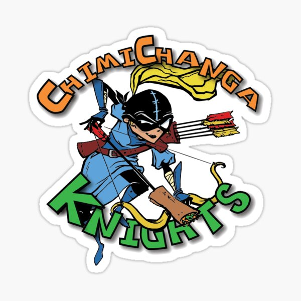 The Archer from Chimichanga Knights Sticker