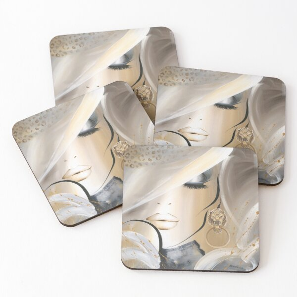 Sophistication Coasters (Set of 4)