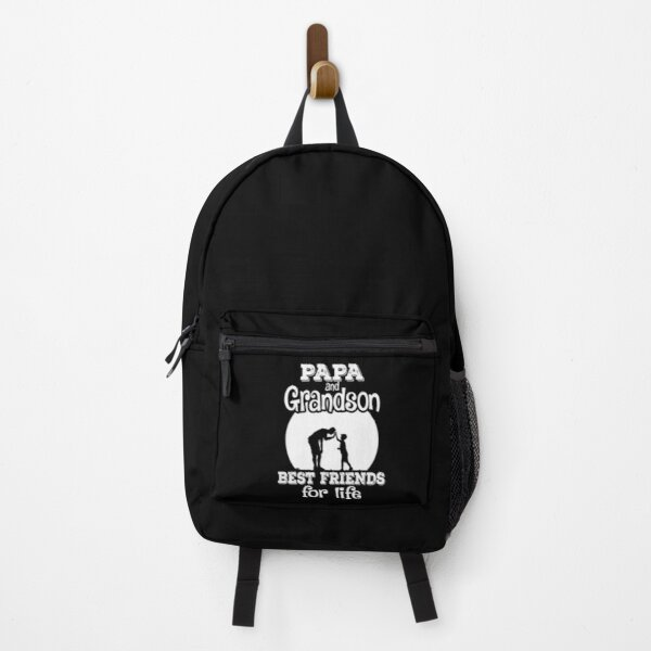 Papa And Grandson Best Friends For life, Father day, Grandson, Family Backpack