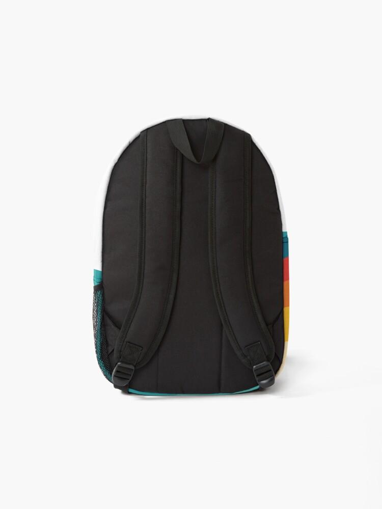 Alternate view of 70s Retro Aesthetic Backpack