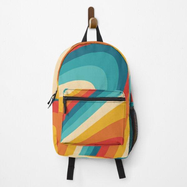 70s Retro Aesthetic Backpack