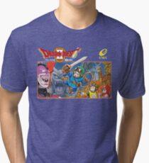 Dragon Quest 2 Nintendo Famicom Box Art Tri-blend T-Shirt