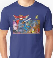 Dragon Quest 2 Nintendo Famicom Box Art T-Shirt