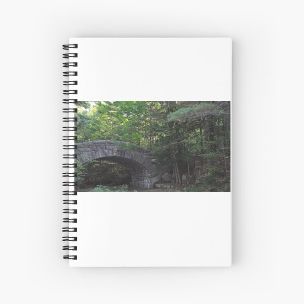 Stone Bridge, New Hampshire Spiral Notebook
