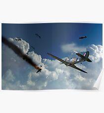 Hurricane Battle Poster