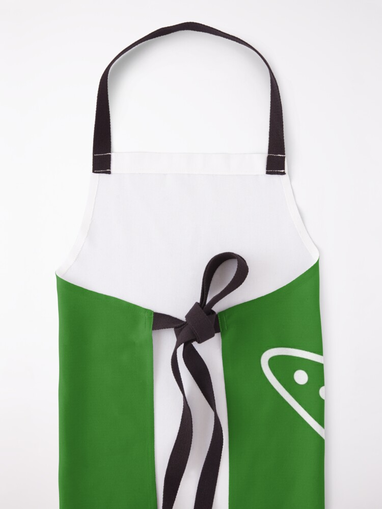 Alternate view of turtle riding rocket Apron