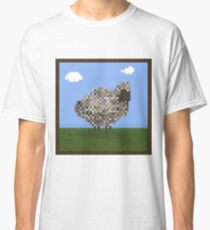 Sheep Portrait  Classic T-Shirt