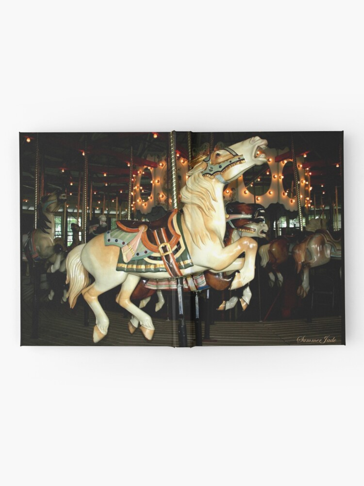 Alternate view of Beautiful Horse on the Carousel Hardcover Journal