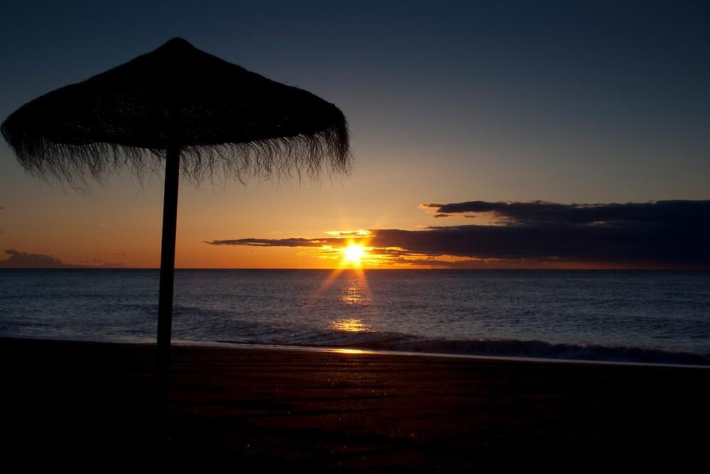 Sunrise In Spain by Dave Godden
