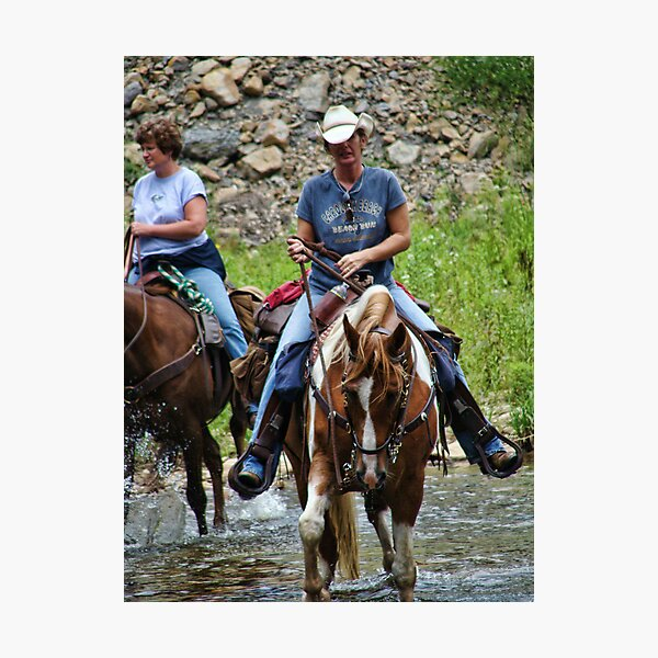 COWGIRLS RULE Photographic Print