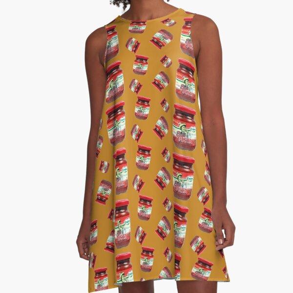 Spicy Steve A-Line Dress