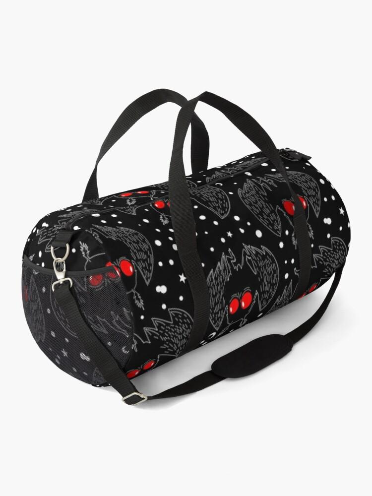 Alternate view of Mothman Night Duffle Bag