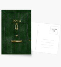 221B Door Postcards
