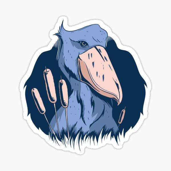 SHOEBILL BIRD  Sticker