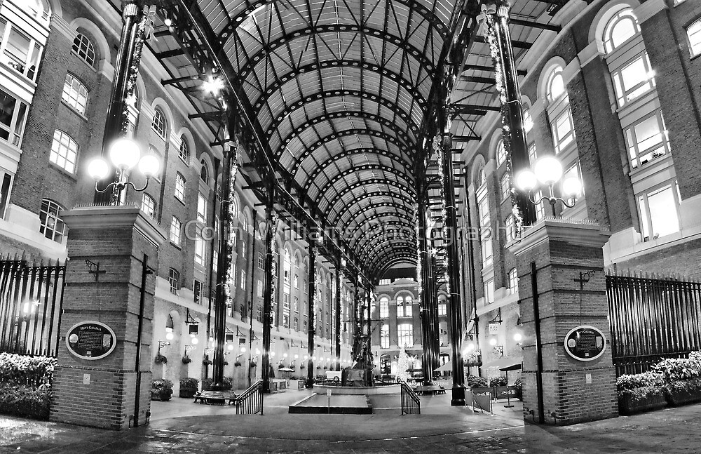 Hay's Galleria - London HDR by Colin  Williams Photography