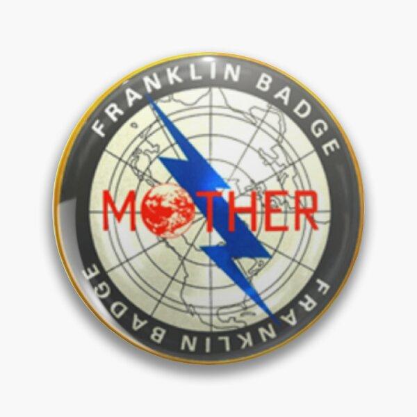 Franklin Badge Pin