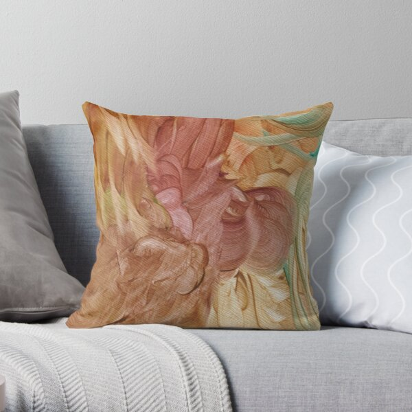 Kubera Throw Pillow