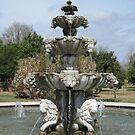 Garden Fountain by Vivian Sturdivant