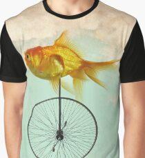 unicycle goldfish Graphic T-Shirt