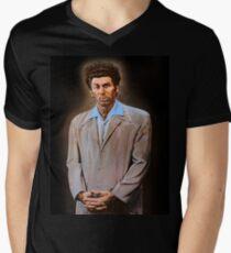 Kramer painting Men's V-Neck T-Shirt