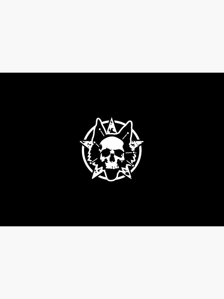 Black Magic Outlaw Mask - Raw by DominoFinn