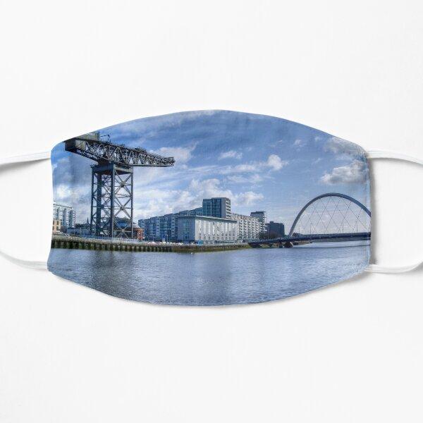 Glasgow River Clyde Arc Flat Mask