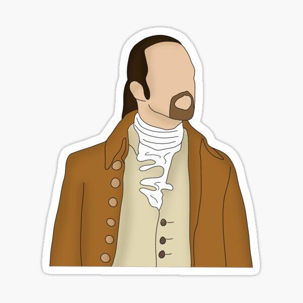 Alexander Hamilton Sticker