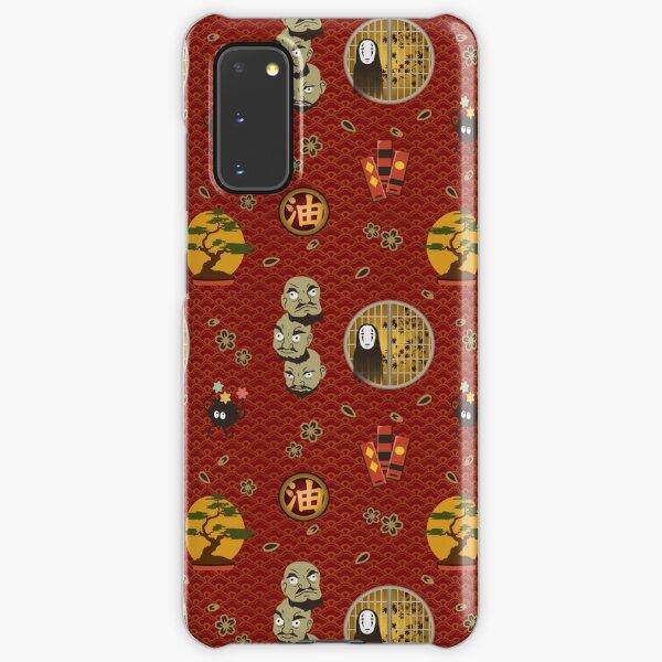 Kaonashi Pattern Samsung Galaxy Snap Case