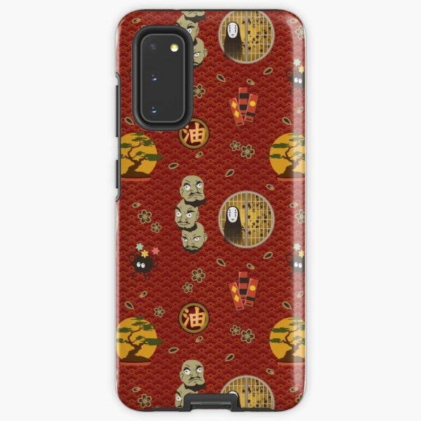 Kaonashi Pattern Samsung Galaxy Tough Case
